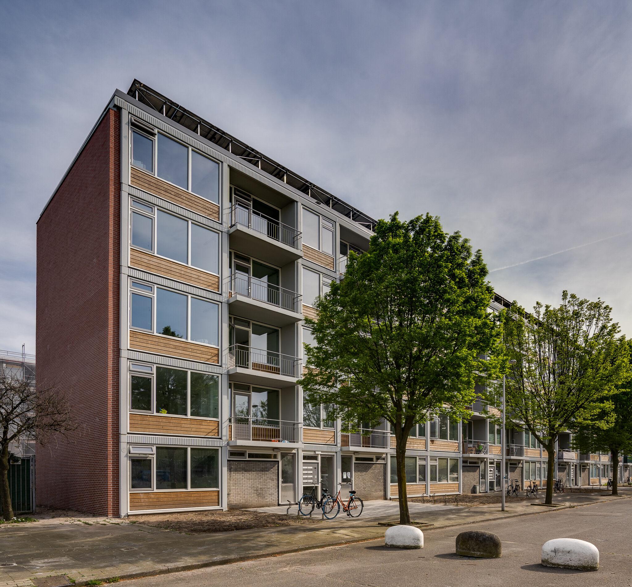 De renovatie van de Flat met Toekomst van Mitros aan de Camera Obscuradreef in Overvecht is afgerond
